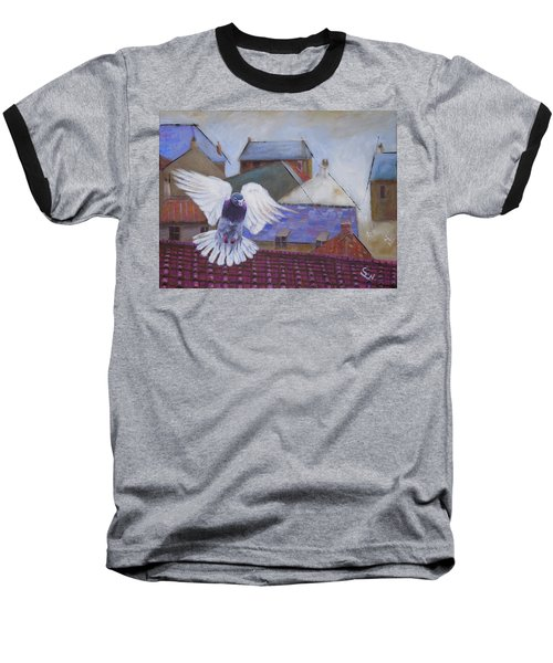 Urban Pigeon Baseball T-Shirt