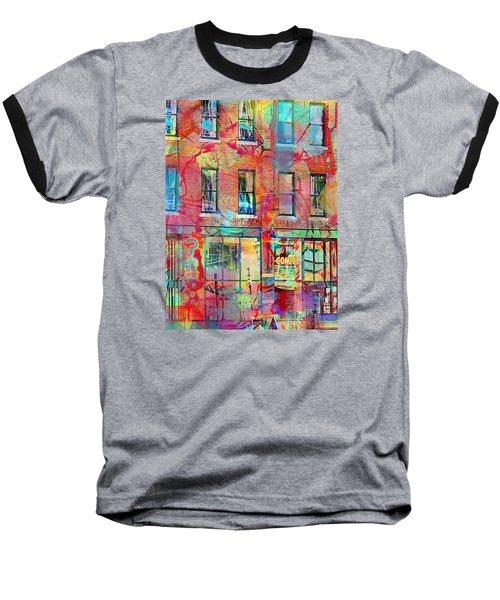 Urban Wall Baseball T-Shirt