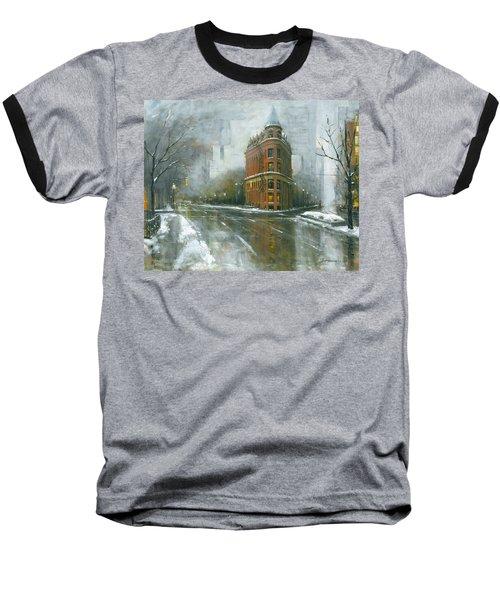 Urban Winter Baseball T-Shirt