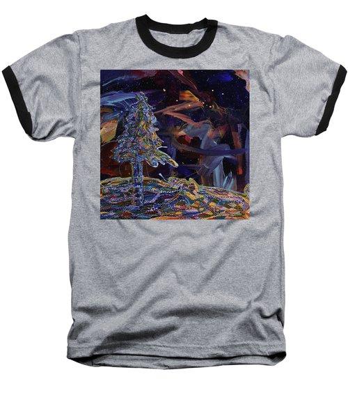 Ursa Minor Baseball T-Shirt by Erika Pochybova