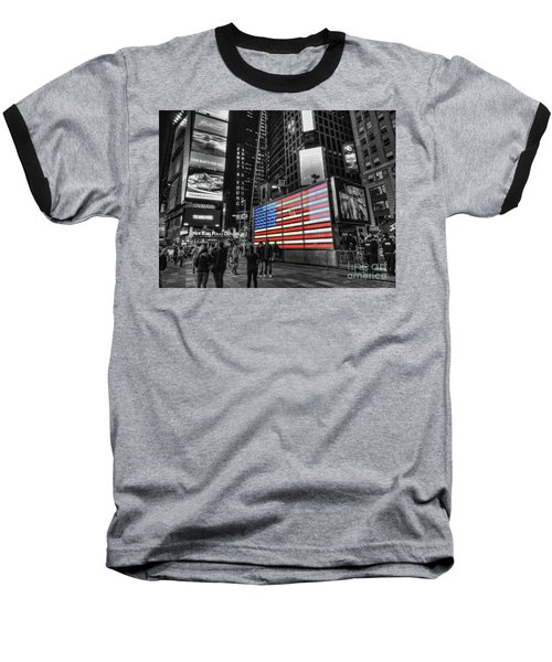 U.s. Armed Forces Times Square Recruiting Station Baseball T-Shirt