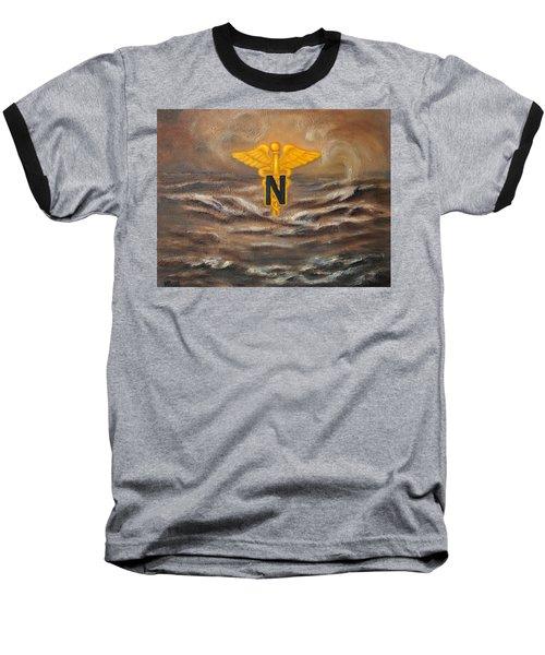 U.s. Army Nurse Corps Desert Storm Baseball T-Shirt by Marlyn Boyd