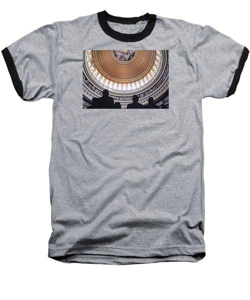 U. S. Capital Rotunda Baseball T-Shirt