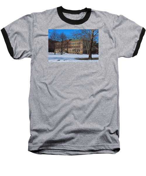 Us Court House And Custom House Baseball T-Shirt by Michiale Schneider