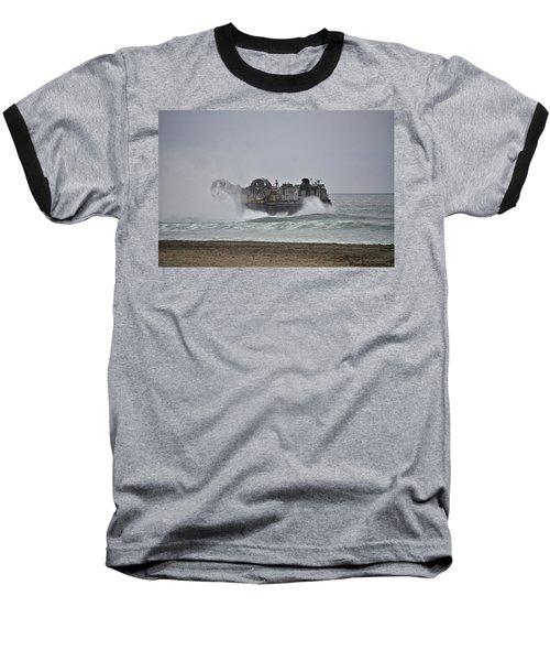 Us Navy Hovercraft Baseball T-Shirt