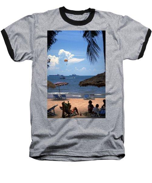 Us Navy Off Pattaya Baseball T-Shirt