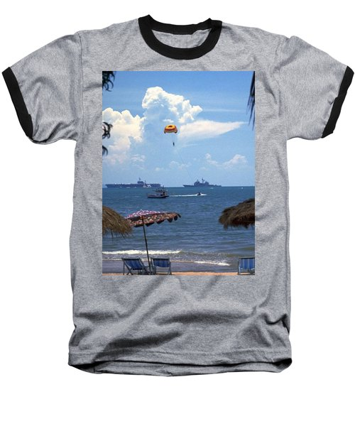 Us Navy Off Pattaya Baseball T-Shirt