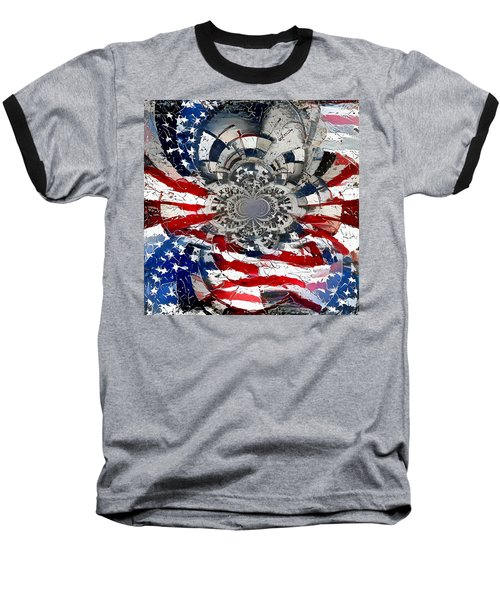 Usa Patriot Baseball T-Shirt