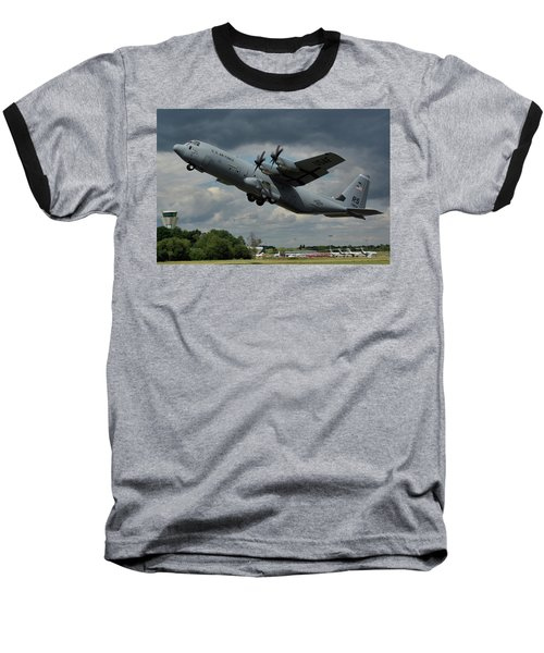 Usaf Lockheed-martin C-130j-30 Hercules  Baseball T-Shirt by Tim Beach