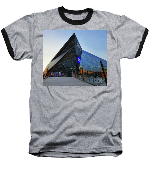 Usbank Stadium The Approach Baseball T-Shirt