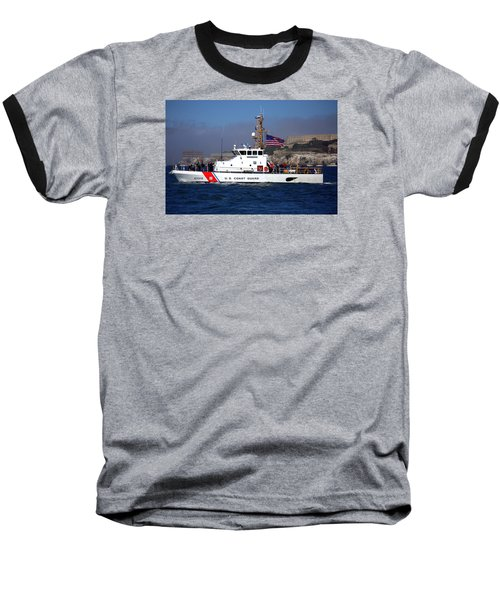 Uscg Hawksbill Patrols San Francisco Bay During Fleet Week Baseball T-Shirt