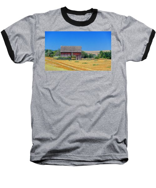 Used To Be Red Barn Baseball T-Shirt