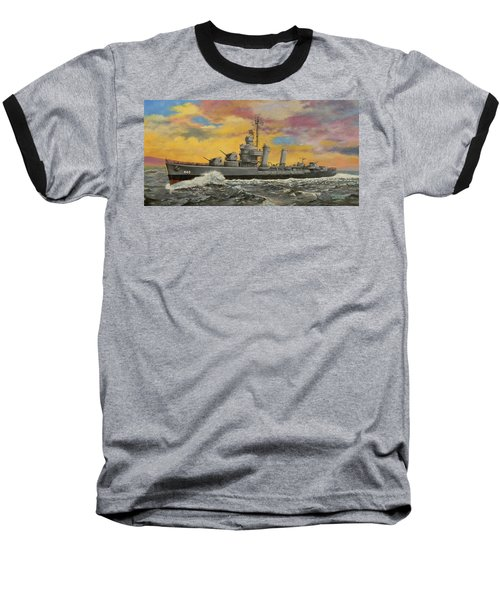 Uss Ericsson Baseball T-Shirt