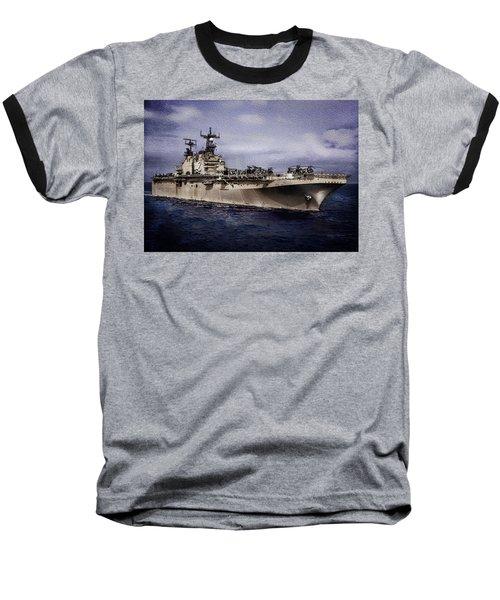 Uss Iwo Jima Lph2 Baseball T-Shirt