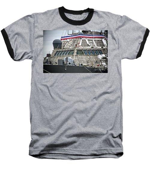 Uss Little Rock Lcs 9 Baseball T-Shirt