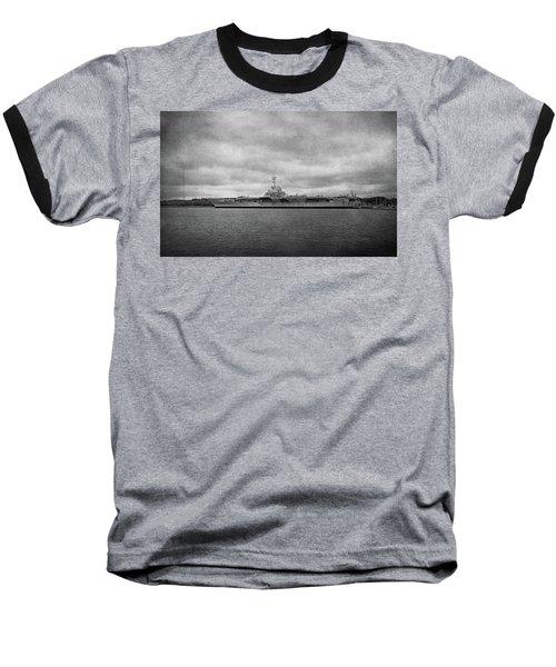 Baseball T-Shirt featuring the photograph Uss Yorktown by Sandy Keeton