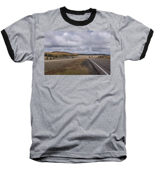Baseball T-Shirt featuring the photograph Utah Highway With Aspens by Frank DiMarco
