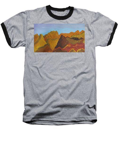 Utah Mountains Baseball T-Shirt