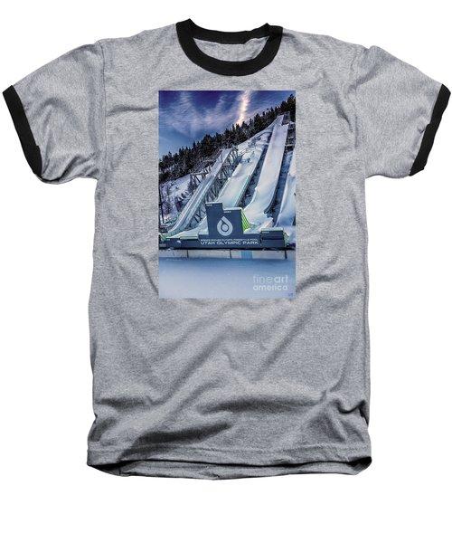 Utah Olympic Park Baseball T-Shirt