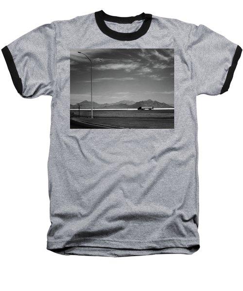 Utah Salt Flats Baseball T-Shirt
