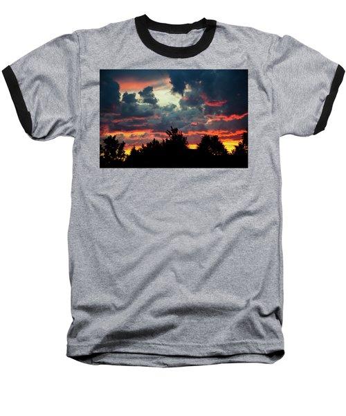 Utah Sunset Baseball T-Shirt