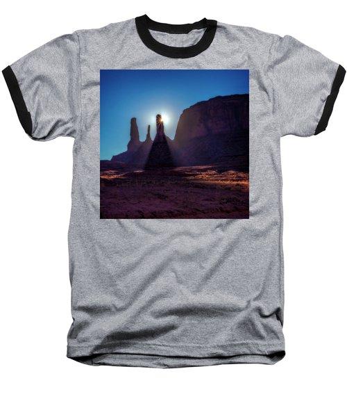 Utah Sunshine Baseball T-Shirt by Phil Cardamone