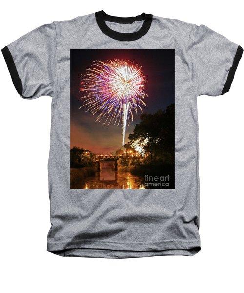 Utica Fireworks Baseball T-Shirt