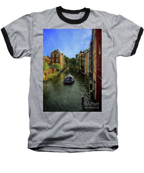 Utrecht, Holland Baseball T-Shirt by John Kolenberg