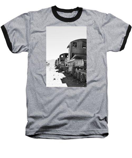 Uyuni Train Cemetery  Baseball T-Shirt