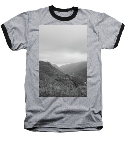 Baseball T-Shirt featuring the photograph V For Vientoooooo Or Just The V On The Mountain by Bruno Rosa