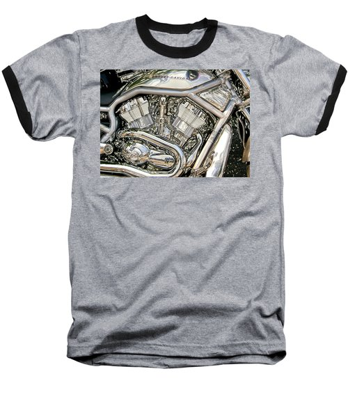 V-rod Titanium Baseball T-Shirt