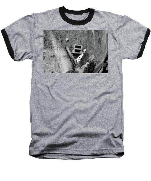 V8 Emblem Baseball T-Shirt