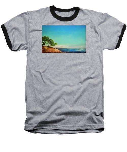 Vacanza Permanente Baseball T-Shirt by Maja Sokolowska