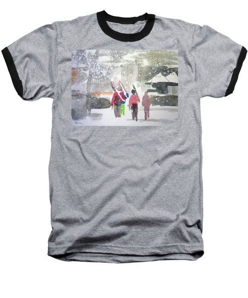 Vail,colorado  Baseball T-Shirt by Ed Heaton