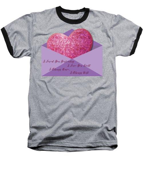 Valentine 05 Baseball T-Shirt
