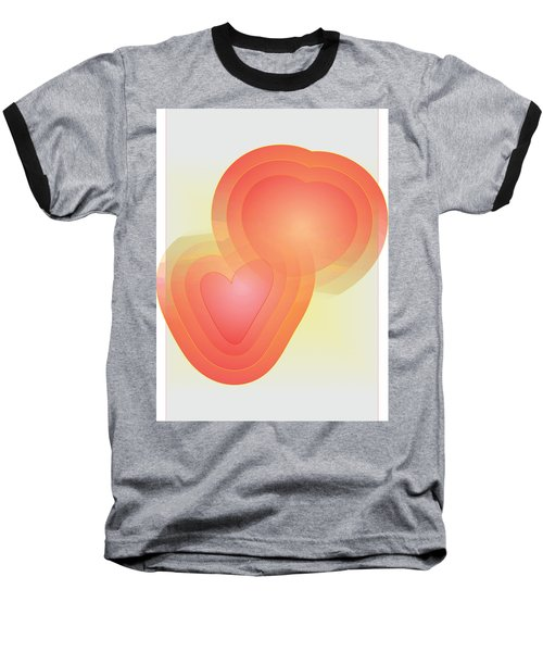 Baseball T-Shirt featuring the digital art Valentine by Sherril Porter