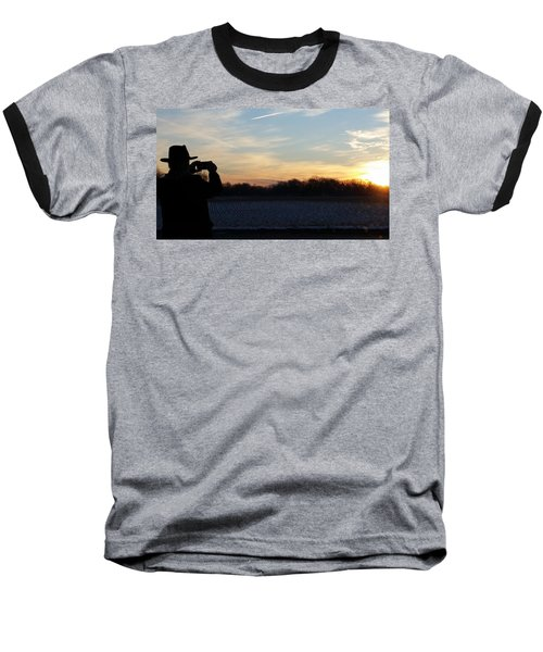 Valentines Sunrise Baseball T-Shirt