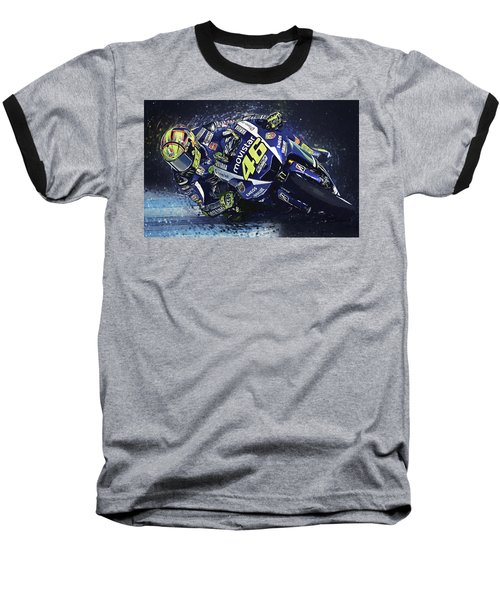 Valentino Rossi Baseball T-Shirt