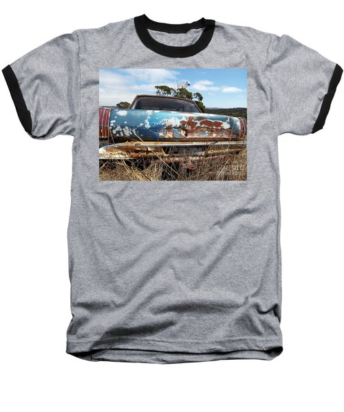 Baseball T-Shirt featuring the photograph Valiant View by Stephen Mitchell