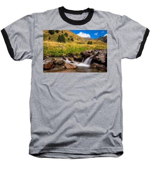 Valle Di Viso - Ponte Di Legno Baseball T-Shirt by Cesare Bargiggia