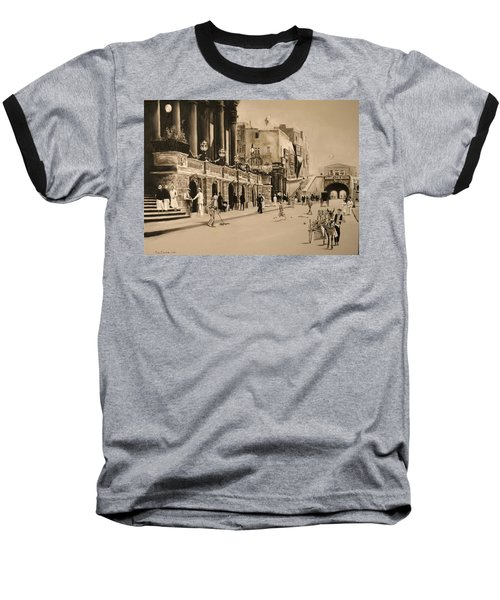 Valletta Entrance 1935 Baseball T-Shirt