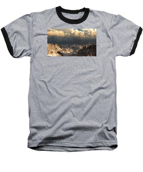 Valley At Dusk Baseball T-Shirt