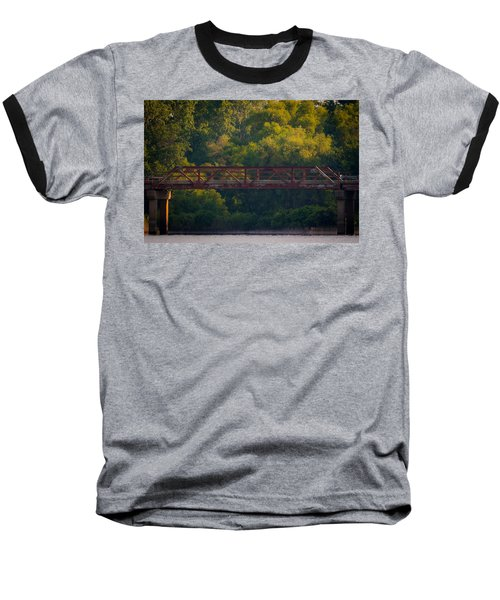Valley Brook Bridge Baseball T-Shirt