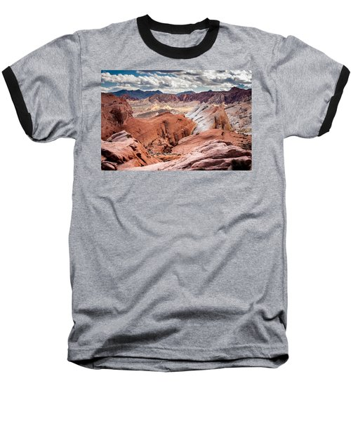 Valley Of Fire Expanse Baseball T-Shirt