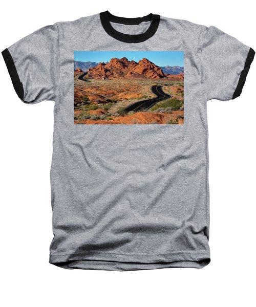 Valley Of Fire Baseball T-Shirt