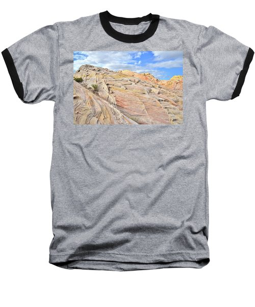 Valley Of Fire High Country Baseball T-Shirt by Ray Mathis
