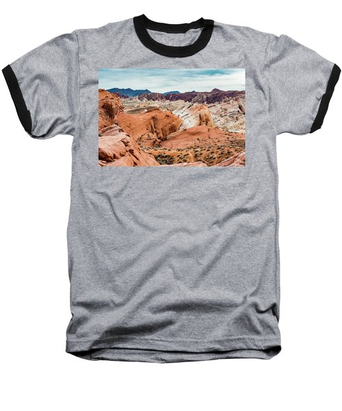 Valley Of Fire  Baseball T-Shirt