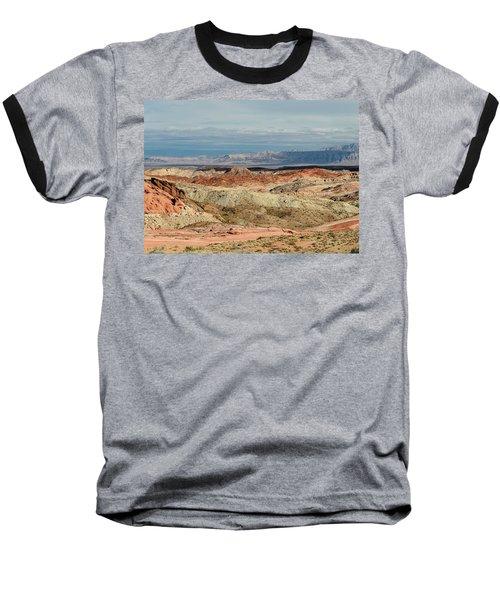 Valley Of Fire, Nevada Baseball T-Shirt