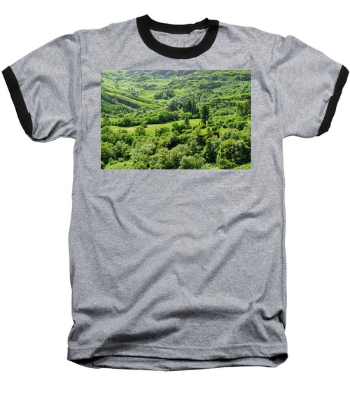 Valley Of Green Baseball T-Shirt