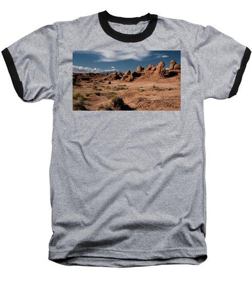 Valley Of The Goblins Baseball T-Shirt